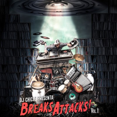 Breaks Attacks Vol1 - Portada por Osele Visual Creata.